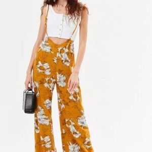 Luca couture suspenders jumpsuit small